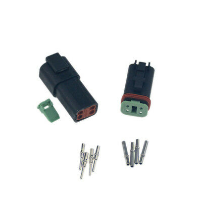 1sets Deutsch 6 Pin Waterproof Electrical Wire Connector Plug DT06-6S 16-18 GA