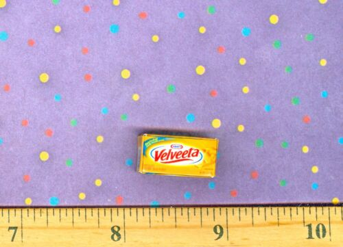 DOLLHOUSE MINIATURE  Size Cheese Box # V