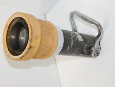 Vintage Fire Nozzle Elkhart Brass Select O Matic 300 Gpm 3