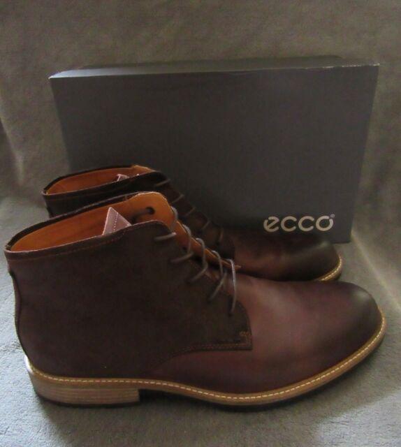 c9279a295a ECCO Kenton Low Cut Lace Chukka Boot Mink/mocha Men Size 12 EU 46  51205450255