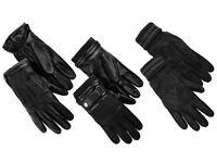 ELIVERGY® Herren Leder-Handschuh, Nappaleder schwarz   NEU