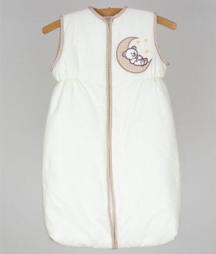 Baby Nursery Short Sleeve Sleeping Bag 2.5 Tog 6-18 Months 100/% Cotton