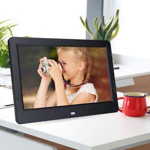 Cornici Digitali Con Usb.Dettagli Su 10 Cornice Digitale Con Telecomando Usb Foto Video Sd Musica Lettore Nero