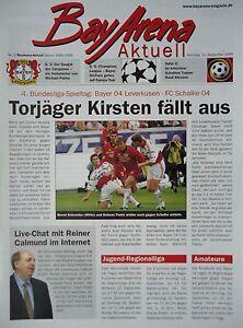 BayArena actuellement 1999/00 Bayer 04 Leverkusen-FC schalke 04  </span>