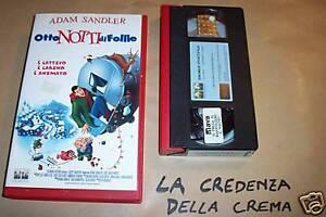 La Credenza Della Crema : 4527] otto notti di follie 2002 vhs sandler ebay