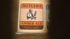 OLD-BRITISH-BEER-LABEL-BUTLERS-SPRINGFIELD-BREWERY-WOLVERHAMPTON-AMBER-ALE