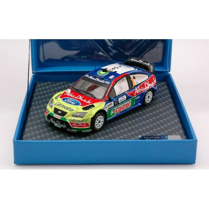 IXO F03MC143 FORD FOCUS  N.3 WINNER TURKEY08 1 43 MODELLINO DIE CAST MODEL  profitez d'une réduction de 30 à 50%