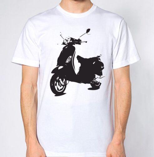 Scooter T-Shirt Mo Ped Bike Moped Top
