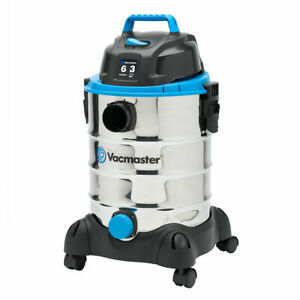 Vacmaster-VQ607SFD-6-Gallon-Stainless-Steel-Portable-Wet-Dry-Vac-Vacuum-Cleaner
