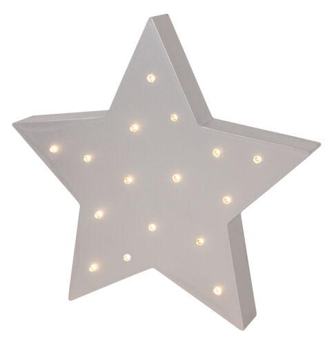 JaBaDaBaDo LED Kinderzimmerlampe Stern oder Wolke Holz