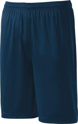Sport-Tek Mens soccer Running Basketball dri fit crossfit Shorts S-3XL 4XL st355