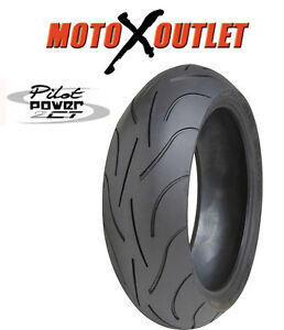 Michelin Pilot Power 2ct 180 55 17 Back Motorcycle Tire 180 55zr17 Rear Ebay