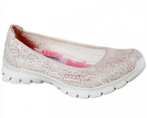 Flex Shoes Memory 0 Beautify Slip Lace Air cooled Foam Effect Ez 3 Skechers On 5PxqOO