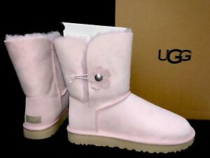 44d7b466daf UGG Australia Bailey Button Poppy Flower Winter Boot Women Seashell ...