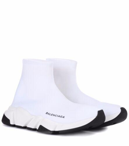 Sock Speed Femme Baskets Noir Balenciaga pour Blanc 0HqAaFw