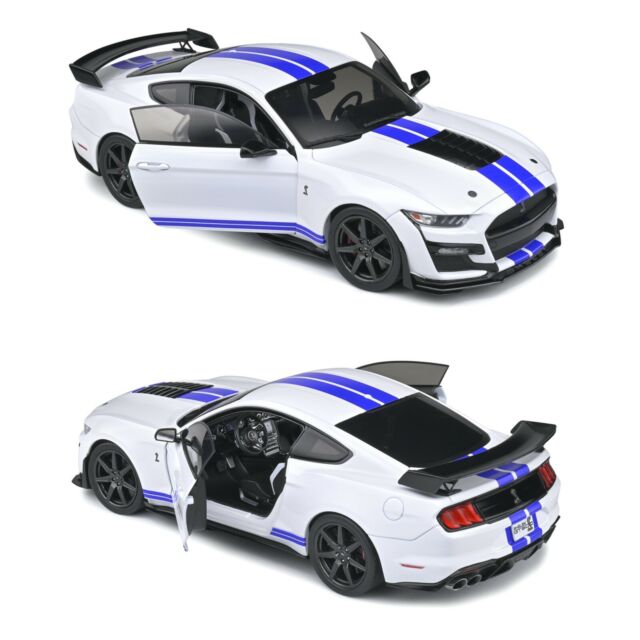 1/18 Solido Ford Mustang GT500 Fast Track White 2020 Neuf Livraison Domicile