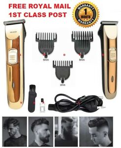 Cordless-Beard-Trimmer-Mens-Body-Hair-Trimmer-Clipper-Electric-Shaver-Cutting-UK