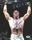 Rey Mysterio Signed WWE 8x10 Photo PSA/DNA COA Picture Auto'd Lucha Underground