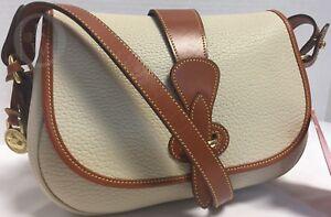 Details about NWT*Vintage*Dooney \u0026 Bourke*Bone*R148 Small Tack Bag*Shoulder  Bag/Crossbody