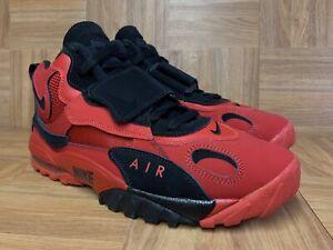 2018 Nike Air Max Speed Turf size 13 Deion Sanders Black Red AV7895-600.