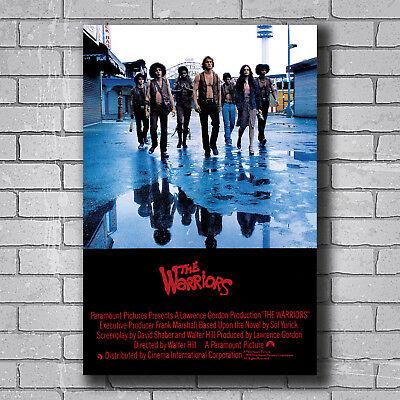 New THE WARRIORS 1979 Cult Film NYC Movie Custom Poster Print Art Decor T-149