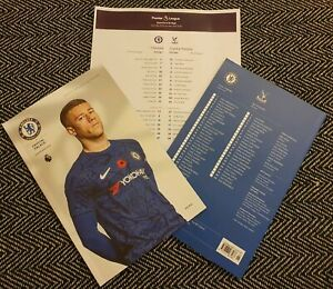 Chelsea-v-Crystal-Palace-OFFICIAL-PROGRAMME-with-TEAMSHEET