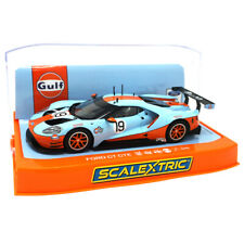 Scalextric C4034 Ford GT GTE Gulf Edition 1 32 Scale Slot Car