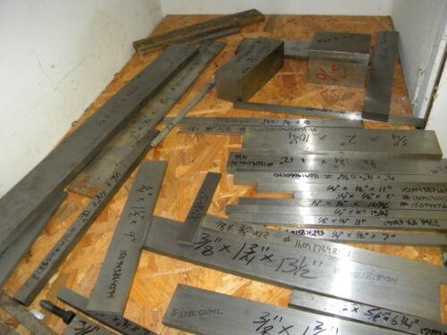 "A-2 Tool Steel Flat Ground 1//8/"" x 1/"" x 11/"""