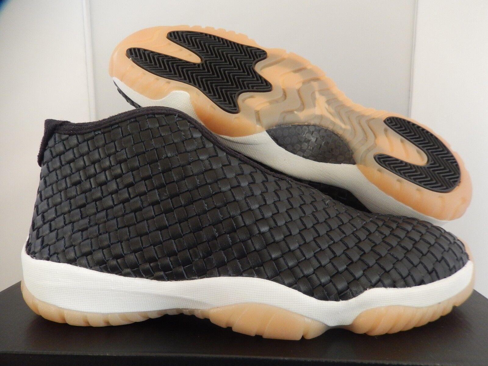174782b903ae Nike Air Jordan Future Premium Black-sail-gum Yellow Sz 12 652141 ...