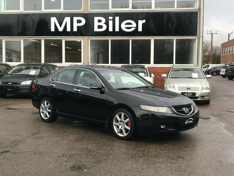 Honda Accord 2,4i Executive aut. Benzin aut. Automatgear