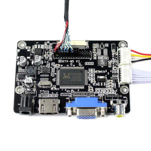 "HDMI VGA AV LCD Controller Board 10.4/"" 1024X768 HT10X21 IPS LCD Screen"