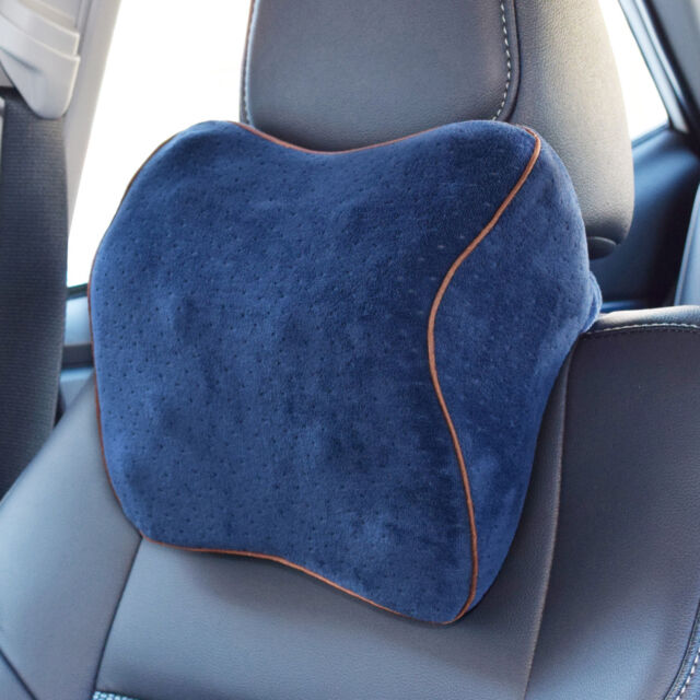 Vitodeco Velour Neck Pillow For Travel Best Memory Foam Cushion Car Rest With