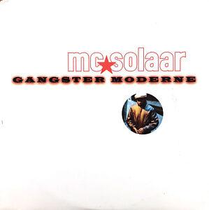 Mc-Solaar-CD-Single-Gangster-Moderne-Promo-France-EX-EX