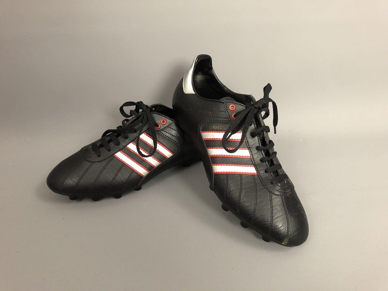 ADIDAS STRATOS JL Retro Football bottes - Taille UK9 - Moulded Studs - nouveau