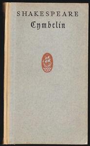 Shakespeare-William-Cymbelin-Cymbeline-Insel-Verlag-1922