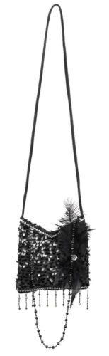 36000 Boland Handbag Accessory Fancy Dress Flapper 25cm
