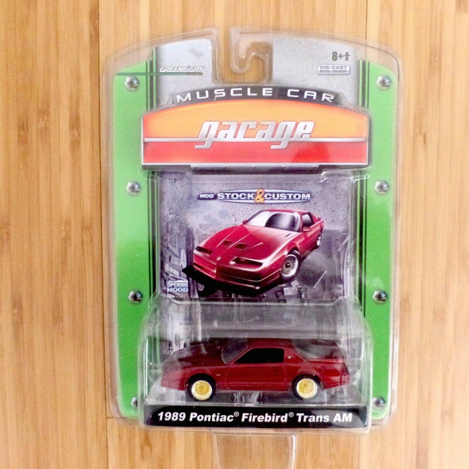 1989 Pontiac Firebird TransAm verdelight Muscle auto Garage nuovo SealedCollectible