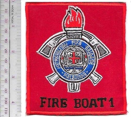 Fire Boat Australia Metopolitan Fire Brigade MFB Melbourne Fire Boat 1 Marine Un