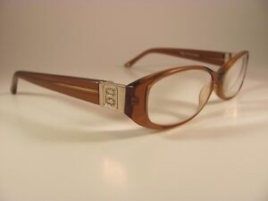 df6b04769bab Bebe Luminous Topaz Amber   Rhinestone Designer Full-Rim RX Eyeglass ...