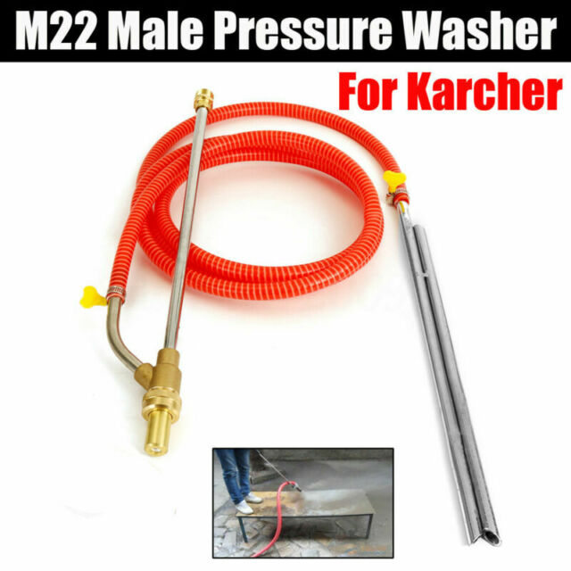 3 Meters 3000psi Sand Blasting Tube For Karcher Series M22 Pressure Washer Tools