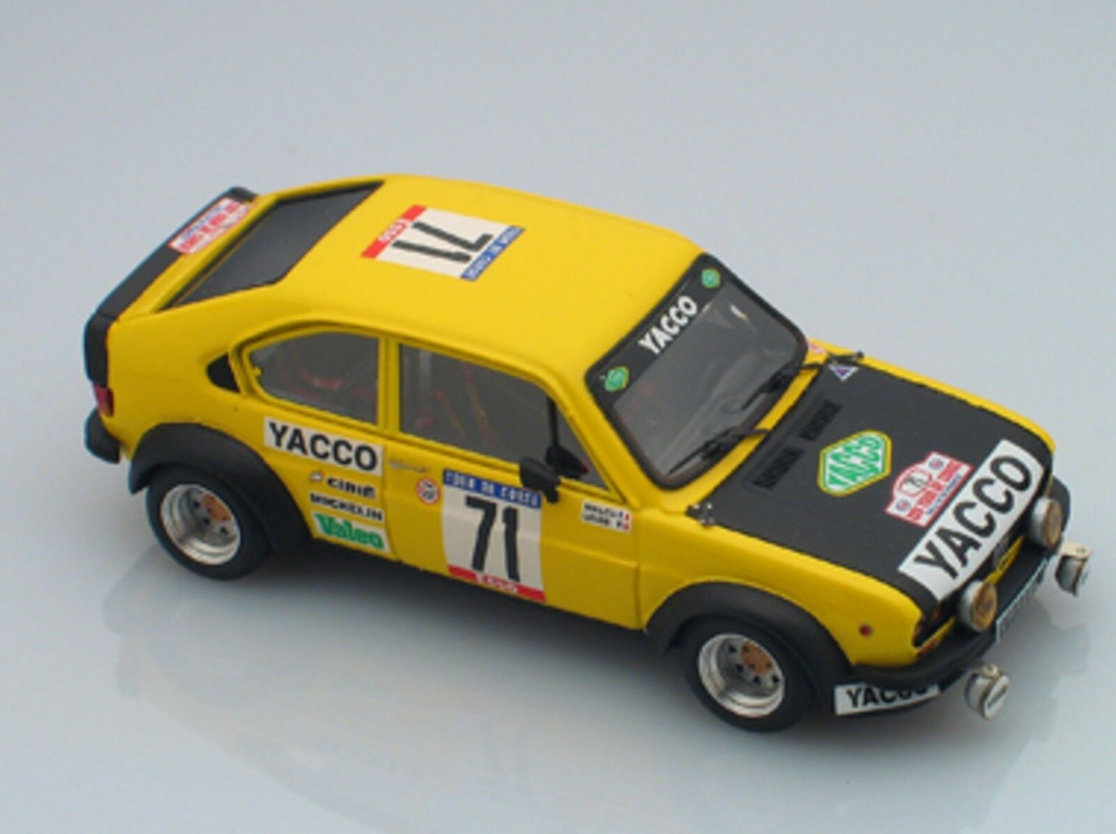 kit Alfasud TI Gr.2 Yacco  71 Tour de Corse 1981 - arena models kit 1 43