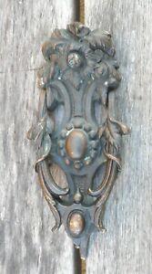 FANTASTIC-ANTIQUE-ORIGINAL-KENRICK-295-BRONZE-DOOR-KNOCKER