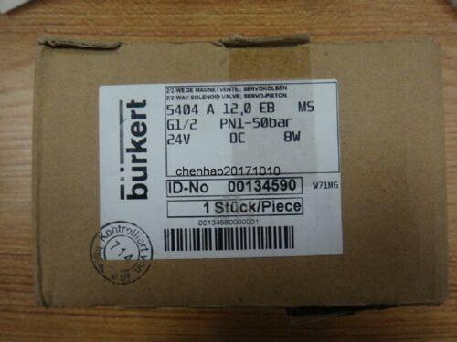 The new high-pressure solenoid valve Pao burkert5404 new temperature 00134590