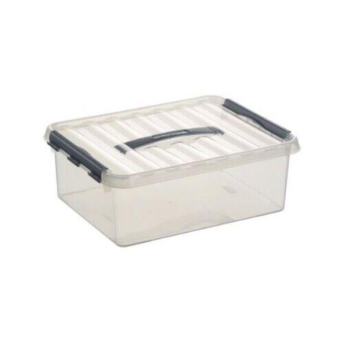 SUNWARE Aufbewahrungsbox 12l 400x300x140mm transparent