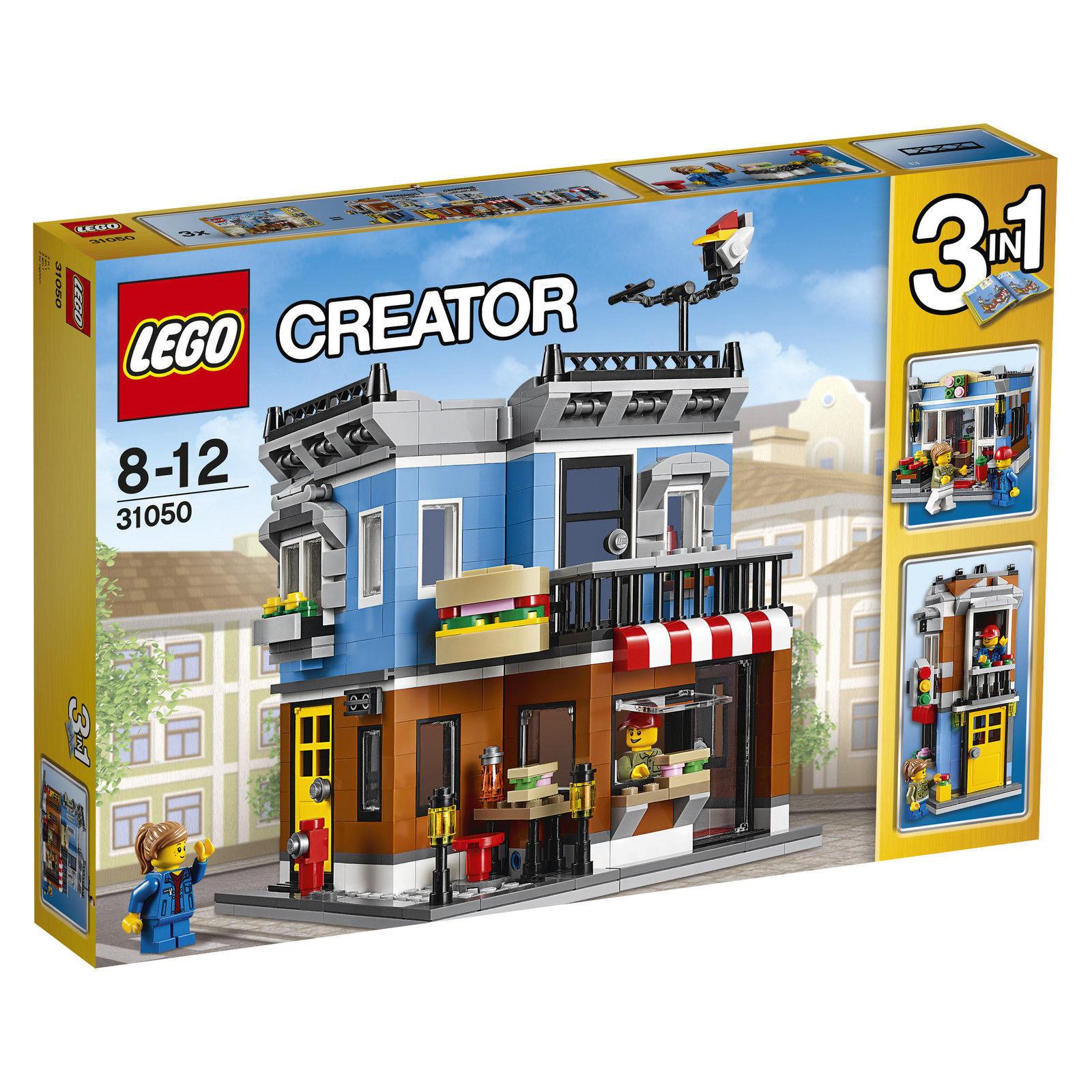 LEGO ® CREATOR 31050 Feinkostladen 3 in 1 Neu OVP New Original