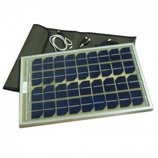Angling Technics Solar Panel 10 Watt Bait Boat Charger  NEW Carp Fishing
