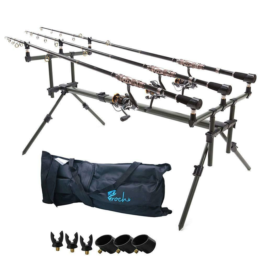 New Aluminium Carp  Fishing Specialist Goal Post Style Rod Pod Fishing  all products get up to 34% off