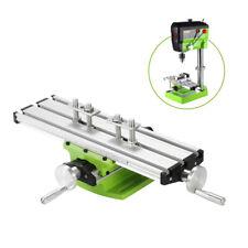 Mini Compound Bench Drilling Slide Table Worktable Milling Vise Machine I7z2
