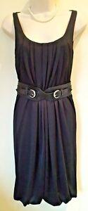 Alexander-McQueen-little-black-dress-with-back-drape-Size-S-UK-8