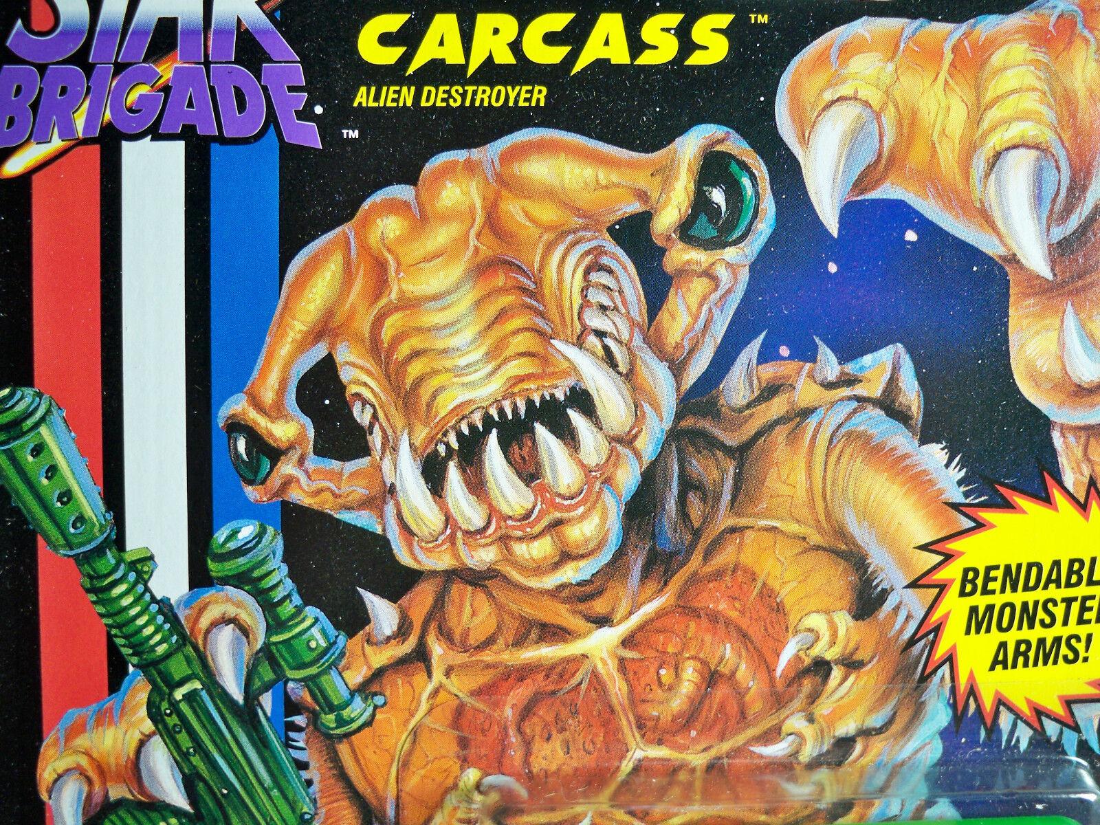 D1003233 CARCASS GI JOE STAR BRIGADE ALIEN DESTROYER DESTROYER DESTROYER 1993 MOC MINT ON CARD 52700a